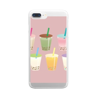 i.tapioca オリジナルグッズ 第一弾! Clear smartphone cases
