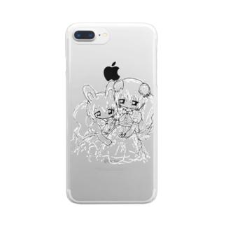 対話 Clear smartphone cases