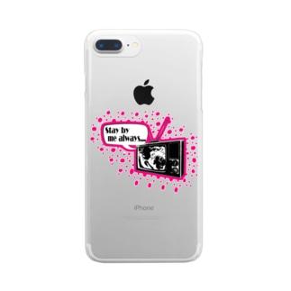 ラブロマンス♯1 Clear smartphone cases