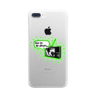ラブロマンス♯3 Clear smartphone cases