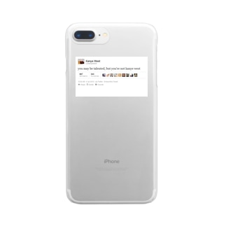 O Clear smartphone cases