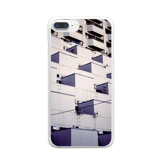 masamitsu_magomeのsuburbia_01 Clear smartphone cases