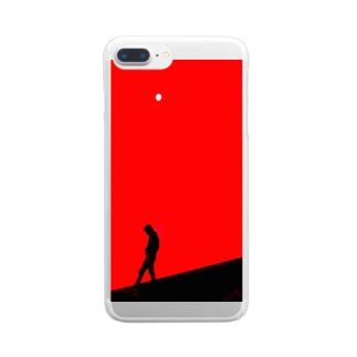 そりまち Clear smartphone cases