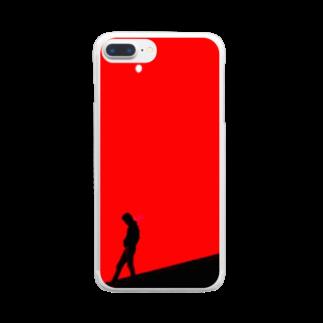 ぽいずん🎹iPhone作曲家のそりまち Clear smartphone cases
