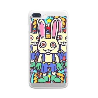 佐藤 のりよし(ニョリ画)のニョリ画のいろいろ Clear smartphone cases