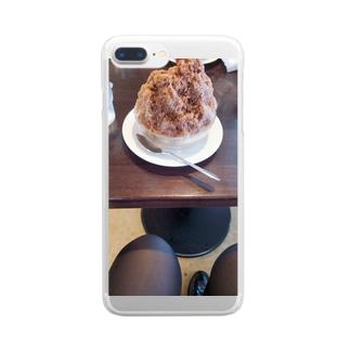 匿名くらぶのインド氷 Clear smartphone cases