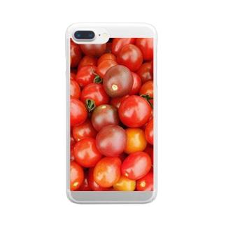 とまとづくし Clear smartphone cases