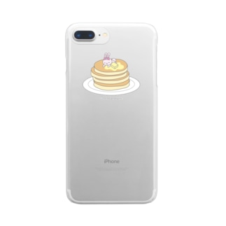 パンケーキもすきなの Clear smartphone cases
