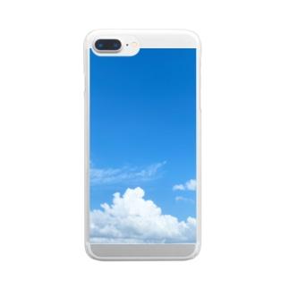 台風前よ Clear smartphone cases
