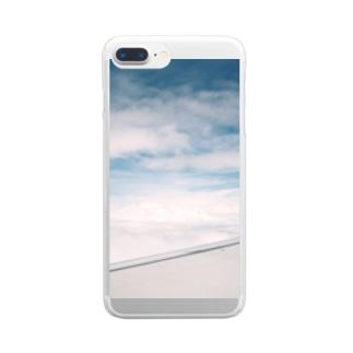 あの日の空 Clear smartphone cases