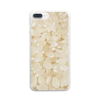 にっぽんのこころ Clear smartphone cases
