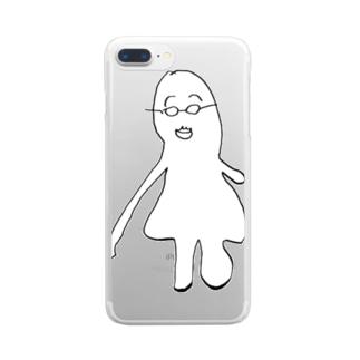 てんさいくん Clear smartphone cases