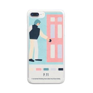 【2019.09.11】新井リオの英語日記グッズ Clear smartphone cases