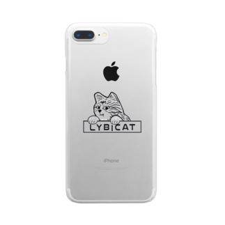 LYBICATエンブレム ポケット Clear smartphone cases