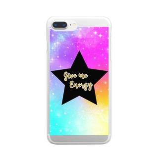 Give me energy Star phone Clear smartphone cases