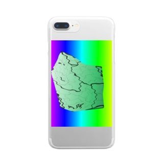 MAPたん4 Clear smartphone cases