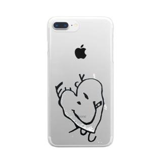 ふぁっとー Clear smartphone cases