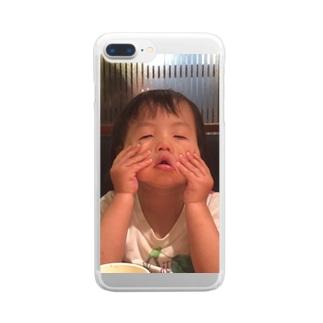 らぶくーちゃん Clear smartphone cases