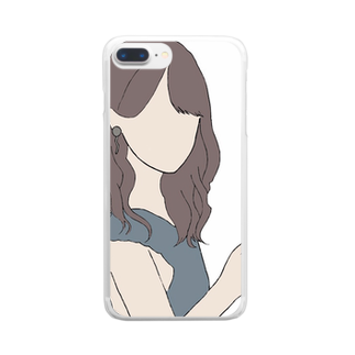 ayakaの黒島ちゃん風 Clear smartphone cases