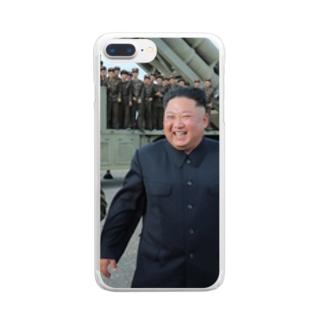 最高の笑顔 Clear smartphone cases