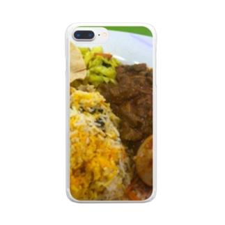 マトンビリヤニ Clear smartphone cases