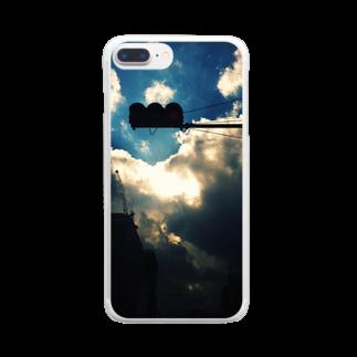 雨宮圭一郎のIt's subjective to think it's beautiful, but it's universal. Clear smartphone cases