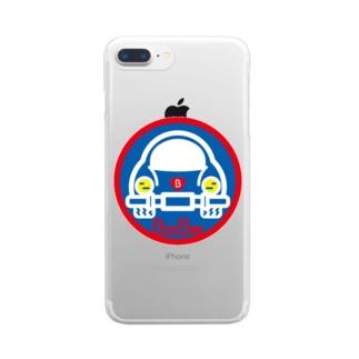 パ紋No.3403 BooBee  Clear smartphone cases