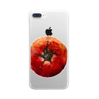 トメィトゥ-ちゃん Clear smartphone cases
