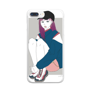 6696illustrationのSg Clear smartphone cases