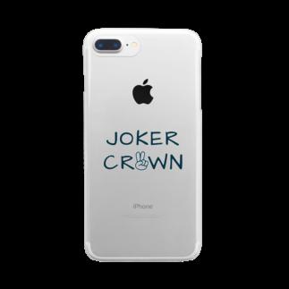 JOKER CROWNのJOKER CROWNグッズ Clear smartphone cases