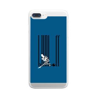 バックレ王 Clear smartphone cases