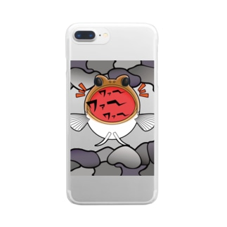 hiromu.の騒ぐジョーフィッシュ Clear smartphone cases