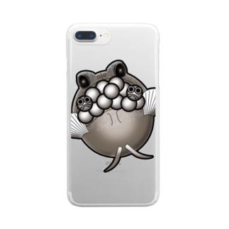 子育て必死なジョー Clear smartphone cases