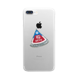OH NO 6Bチーズ Clear smartphone cases