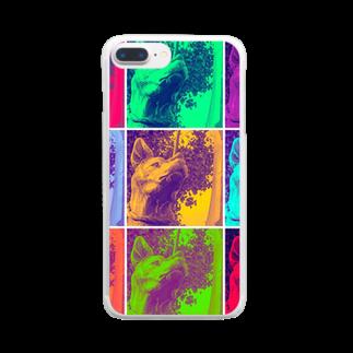 chanleleのSAIGO-KEN Clear smartphone cases
