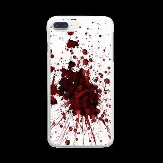 demonstrateのBLOODLUST Clear smartphone cases