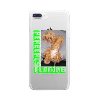DEATH DOGのKERBEROS Clear smartphone cases
