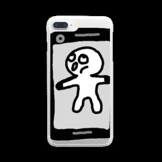 Venizakuraのたっちしちくりーーん Clear smartphone cases