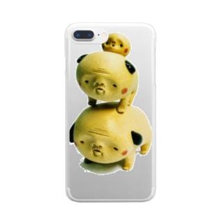 マツエ犬 モデル:BREMEN Clear smartphone cases
