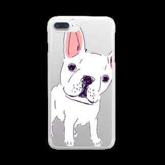 NIKORASU GOのフレンチブル Clear smartphone cases