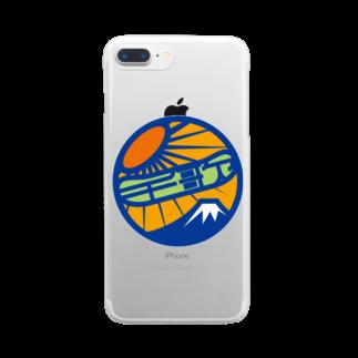 原田専門家のパ紋No.3405 千歌 Clear smartphone cases