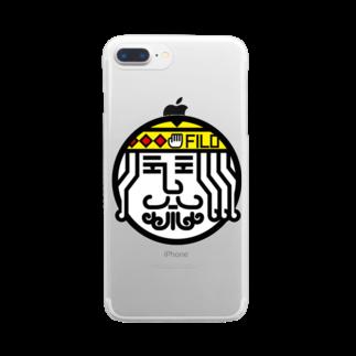 原田専門家のパ紋No.3406 FILO Clear smartphone cases
