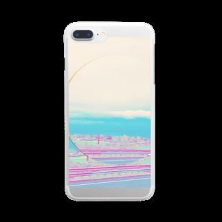ぬっの高速道路 Clear smartphone cases
