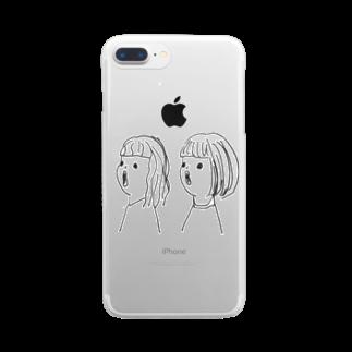 ショップどろだんごの共鳴 Clear smartphone cases