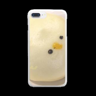✽のひよこまん Clear smartphone cases