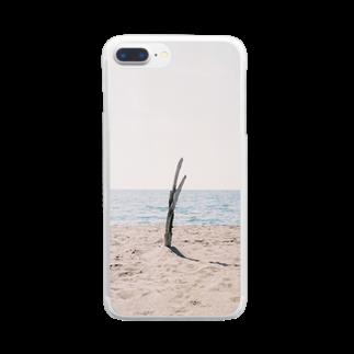ゆりのウミトキ Clear smartphone cases