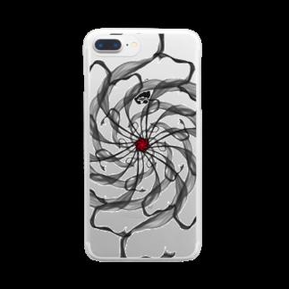HIBIKI SATO Official Arts.のGraphic#19 Clear smartphone cases