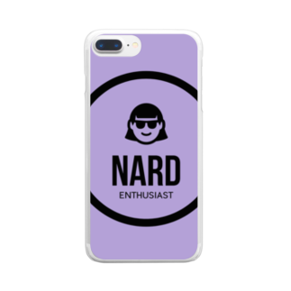 WEARENARDの紫が好き。 Clear smartphone cases