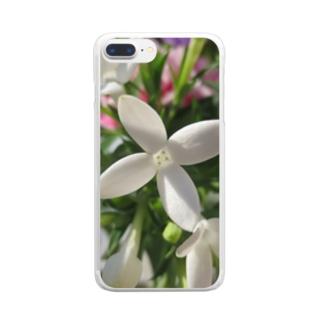 幸福な知らせ・・・ Clear smartphone cases