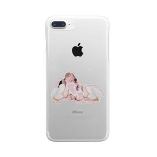 分裂 Clear smartphone cases